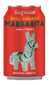 Reyes y Cobardes  / Margarita / 4 Pack 355mL cans