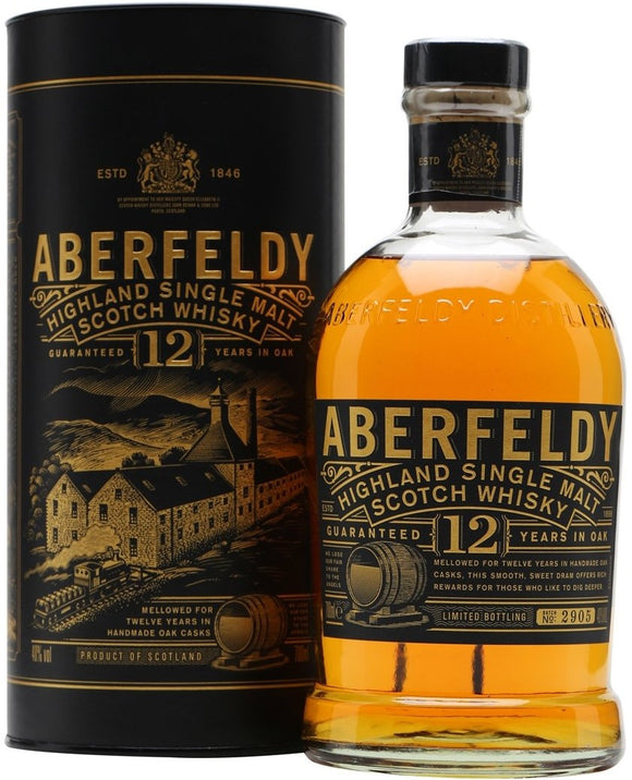 Aberfeldy / 12 Year Single Malt Scotch / 750mL
