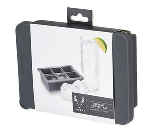 Viski Professional: Highball Ice Cube Tray with Lid