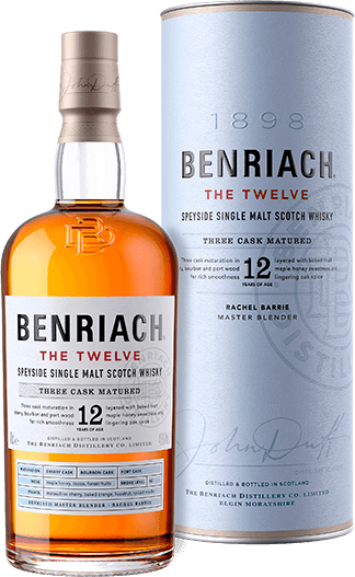 BenRiach / The 12 Year Single Malt Scotch / 750mL