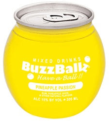 Buzzballz / Pineapple Passion / 200mL