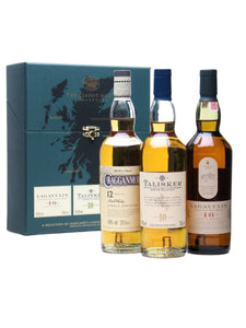 Classic Malts Selections, Strong Collection (10 Year Old Talisker, 12 Year Old Cragganmore, 16 Year Old Lagavulin) / 3x 200mL