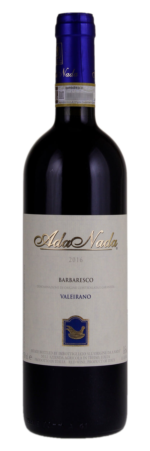 Ada Nada / Barbaresco Valeirano 2016 / 750mL