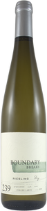 Boundary Breaks / Dry Riesling No. 239 Finger Lakes (2018)