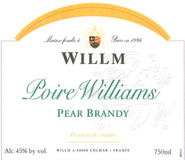 Maison Willm / Poire Williams Pear Brandy / 375mL