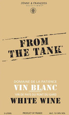 From the Tank / Coteaux du Pont du Gard Vin Blanc / 3.0L