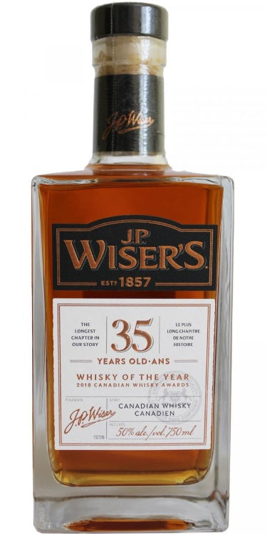 J.P. Wiser's / 35 Year 100PF Old Canadian Whisky