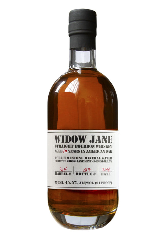 Widow Jane / 10 Year Straight Bourbon / 750mL