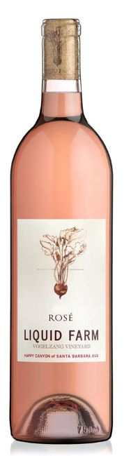 Liquid Farm / Mourvedre Rose / Vogelzang Vineyard / Happy Canyon of Santa Barbara / 750mL