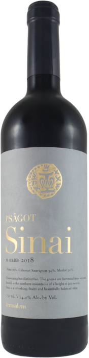 Psagot / Sinai M Series 2018 / 750mL