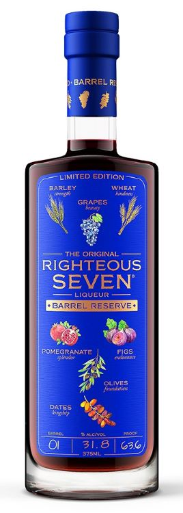 Righteous Seven / The Original Barrel Reserve Liqueur Limited Edition / 375mL