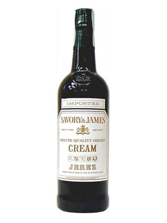 Savory & James / Cream Sherry