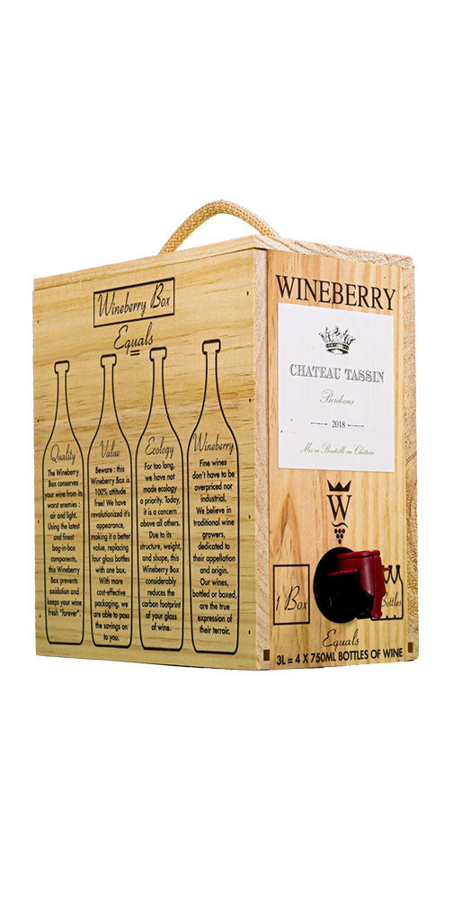 Chateau Tassin / Rouge / Bag-in-Box /  3.0L