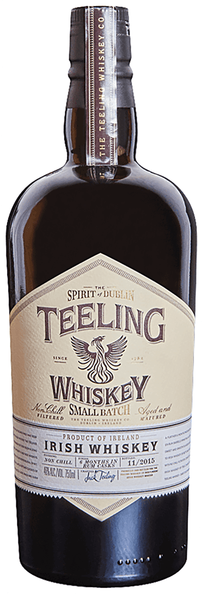 Teeling / Irish Whiskey Small Batch Rum Cask / 750mL