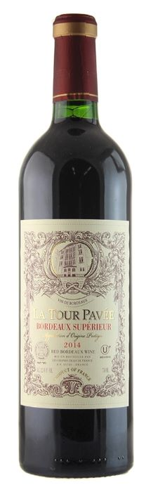 La Tour Pavee / Bordeaux Superieur / 750mL