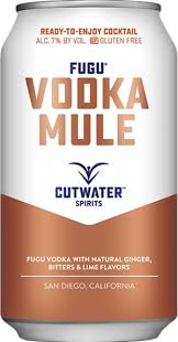 Cutwater Spirits / Fugu Vodka Mule / 4 PACK