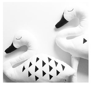 Swan Children's Cushion | Perfect for Nursery Decoration | Unique Children's Gift's