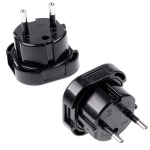 Universal Travel UK to EU Plug Adapter | Affordable Travel Essentials