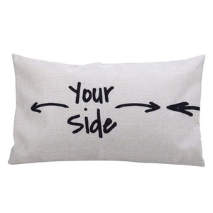 your side Pillow wedding gift | Gift for a married couple