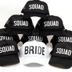 Bride Squad Baseball Caps | Bridal Accessories