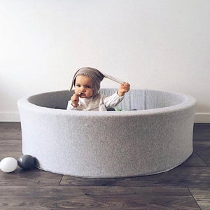 Grey Stylish Children's Ball Pit