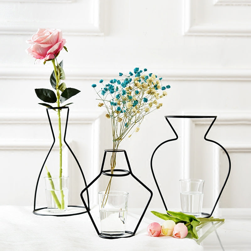 Stunning Nordic Inspired Iron Vases For Home Decoration | Stylish Home Decor Must Have's