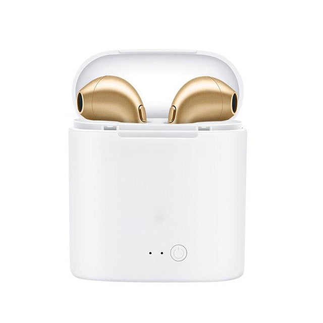 Gold Affordable Bluetooth Wireless Earphones