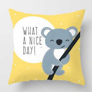 What a nice day | Nursery Cushion | Children's Cushion
