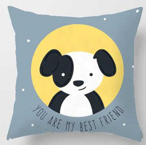 You are my best friend dog Pillow | Nursery Cushion | Children's Cushion