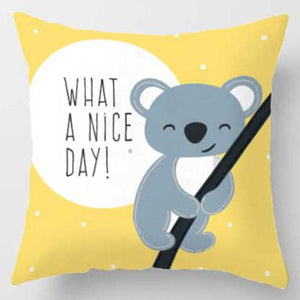What a nice day Koala Pillow | Nursery Cushion | Children's Cushion