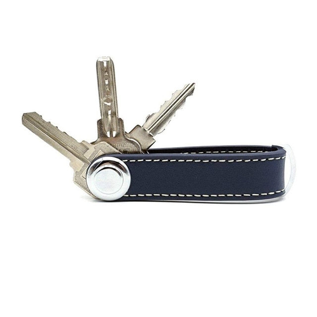 Black Smart Key Wallet | Stylish Keyring Gift