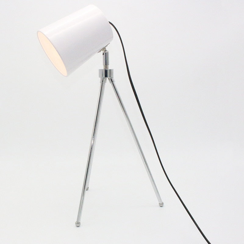 White Modern black/white adjustable Table Lamp | Home Decoration