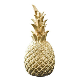 Home Decor Gold Pineapple Sculpture | Home Gift's