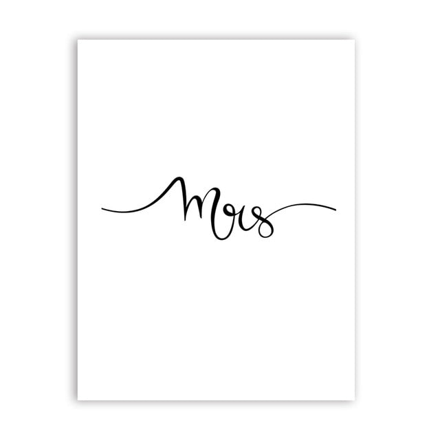 Mrs Stunning & Affordable Print Wall Art