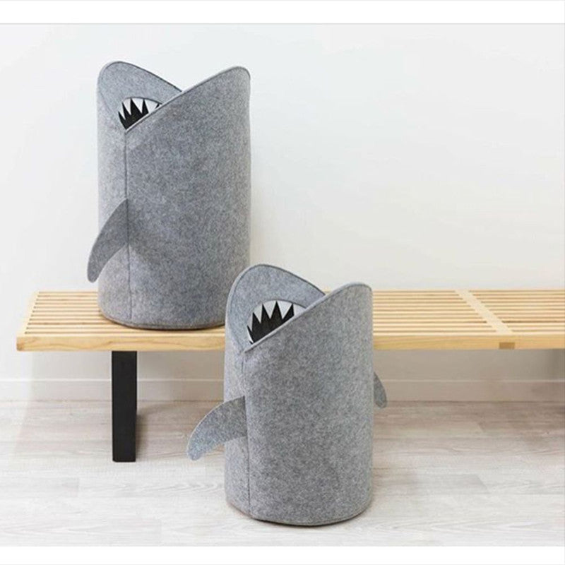 Shark Collapsable Basket | Essential Toy Storage | Children's Bedroom accessories