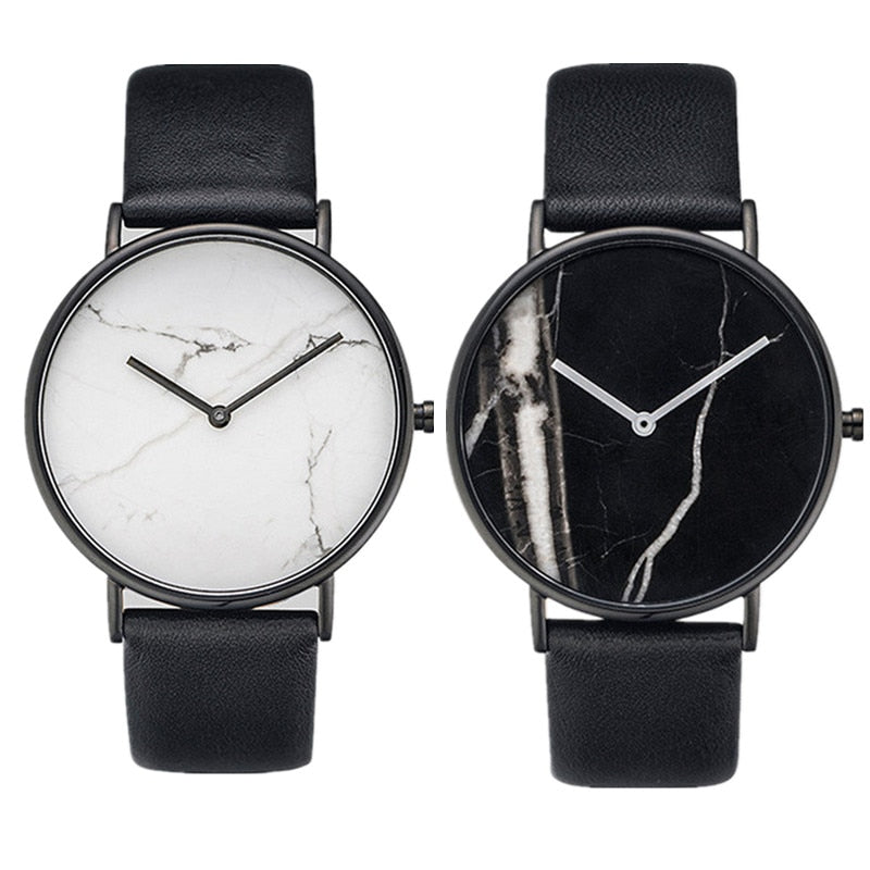 Stylish Oversized Luxury Marble Watch | Classic Watch