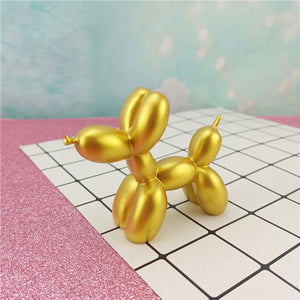 Small Balloon Dog Gold Sculpture | Home Ornaments | Unique House Decor Essentials