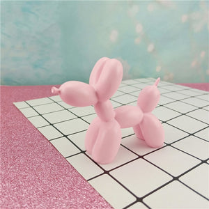 Small Balloon Dog Pink Sculpture | Home Ornaments | Unique House Decor Essentials