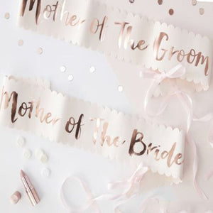 Satin Mother of the bride Sash | Bachelorette party Accessories | Hen Party Essentials