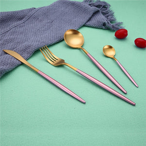 Stylish Stainless Steel Cutlery Set | Affordable Home Decor