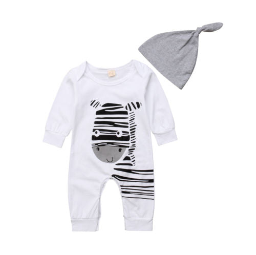 Zebra Baby Romper | Cute Baby Clothes