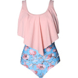 Pink Flower Swimwear for Women