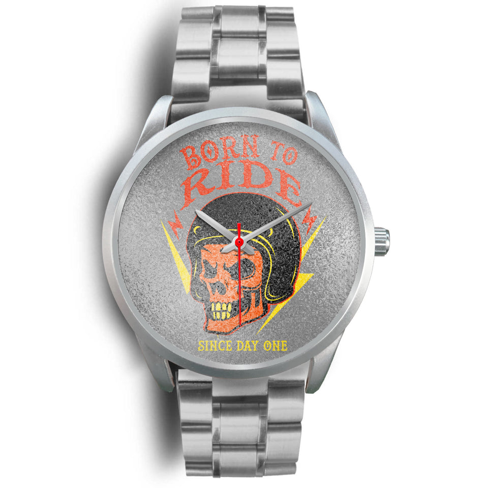 Born to Ride Stainless Watch