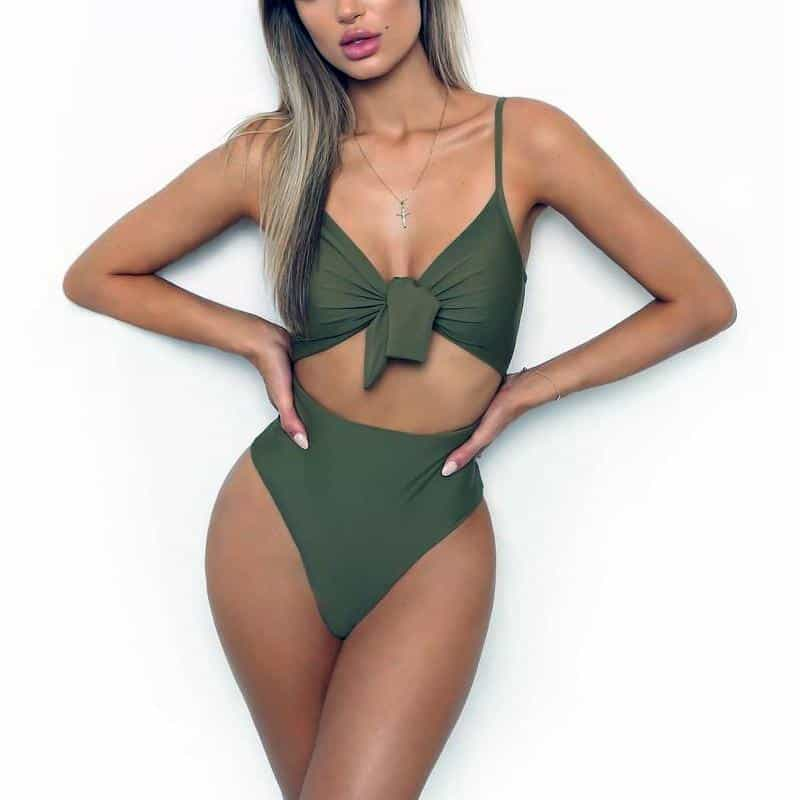 Ava Push Up Monokini Swimsuits