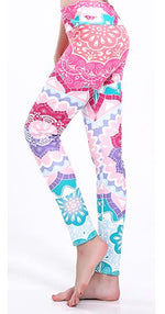 Sunny Lily  FANTASY FLOWER HIGH WAIST FASHION LEGGINGS