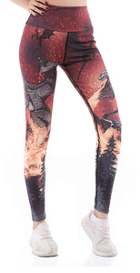 Sunny Lily  LADY FIRE LEGGINGS FOR WOMEN
