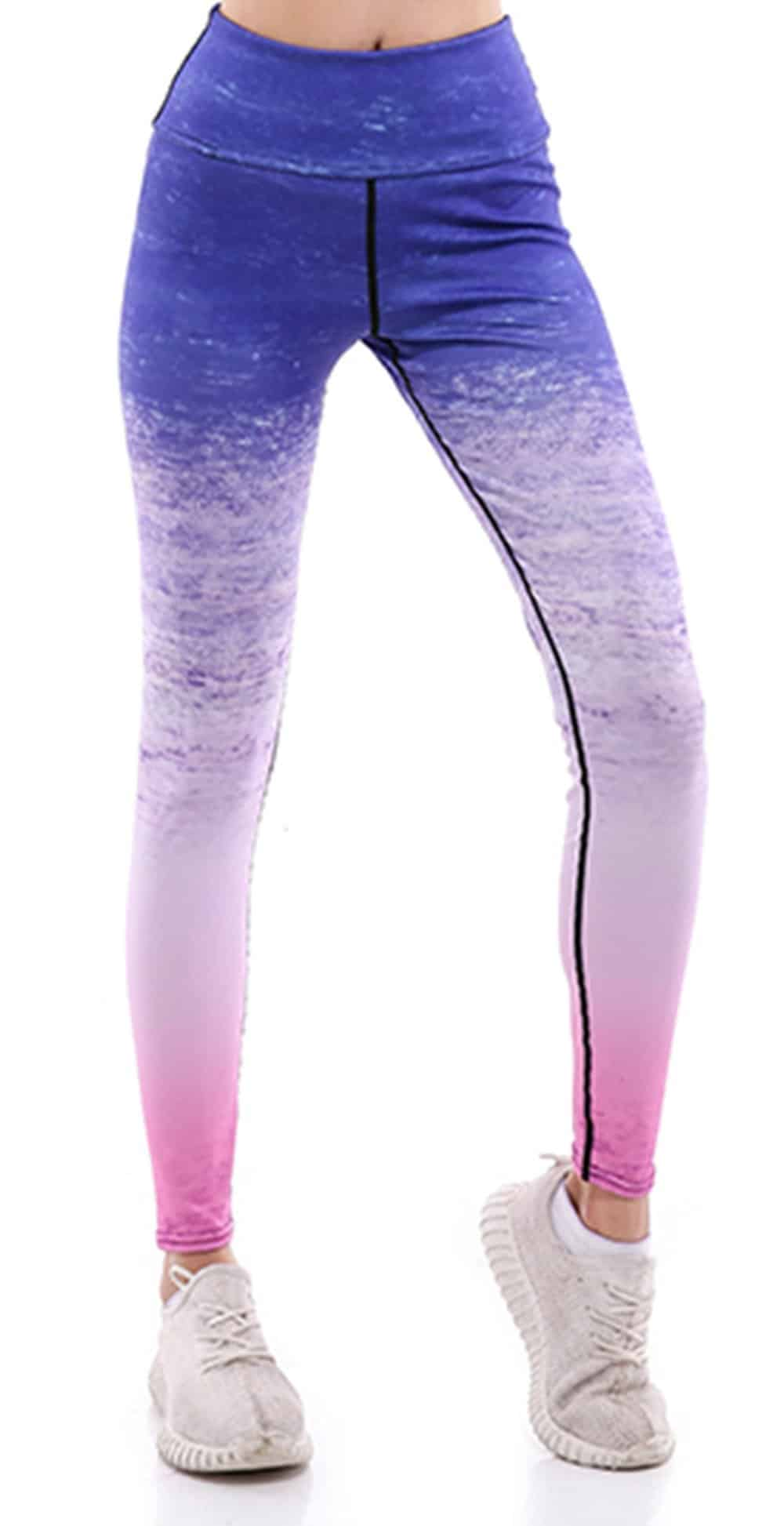 Sunny Lily  GRADIENT YOGA PANTS FOR WOMEN