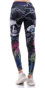 Sunny Lily  CHAINED SKULL LEGGING FOR WOMEN