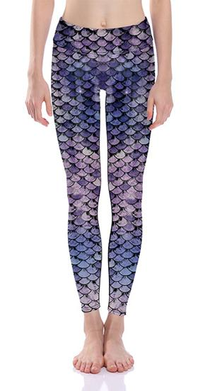 Sunny Lily  MYSTICAL MERMAID TAIL LEGGINGS FOR WOMEN