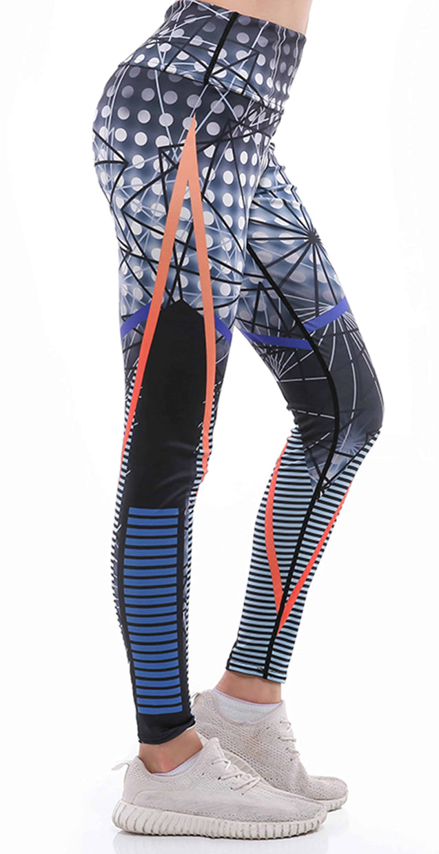 Sunny Lily  GEOMETRIC LEGGINGS FOR WOMEN